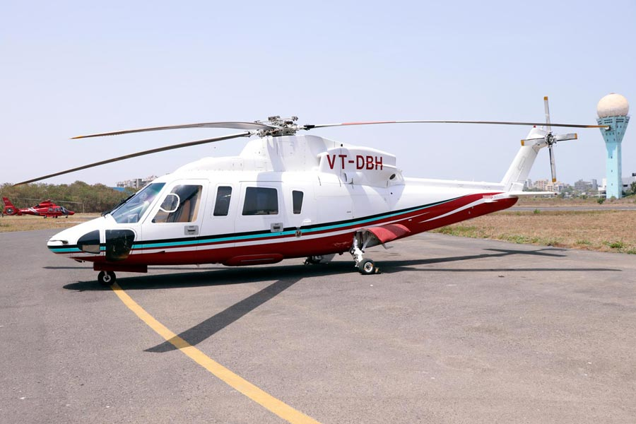 THE SIKORSKY S76C++ A State of The Art Helicopter